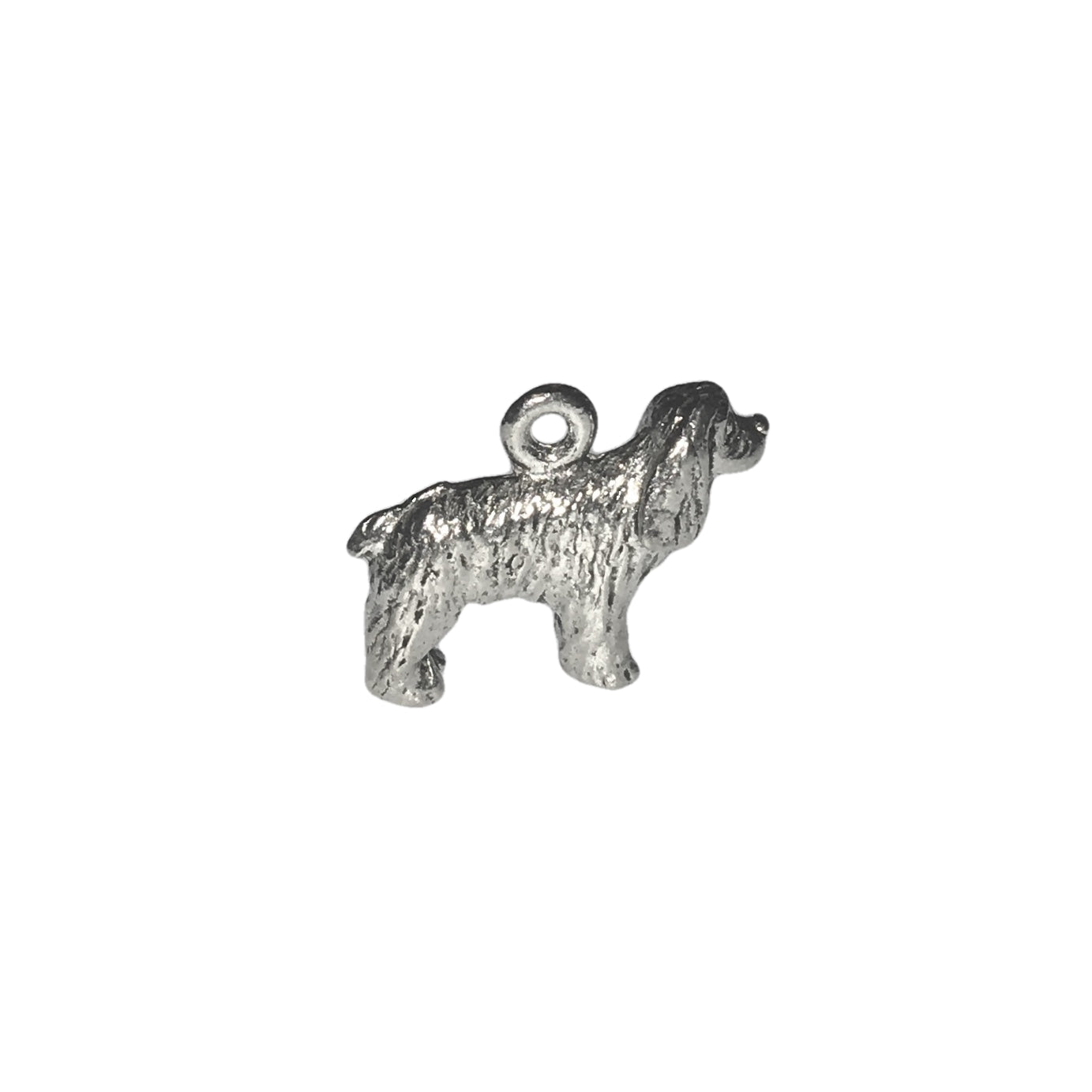 Cocker Spaniel Charms - Qty 5 - Lead Free Pewter Silver - American Made