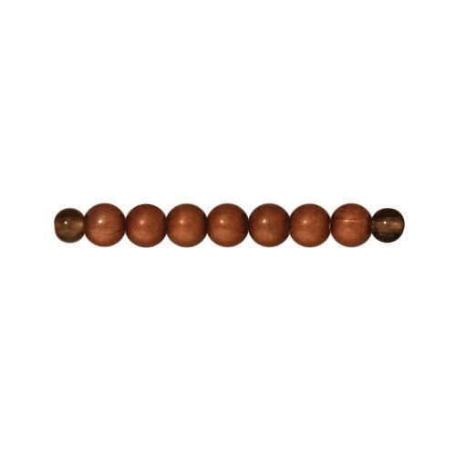 3mm Round Copper Spacer Beads - Qty 50 - TierraCast Copper Plated LEAD FREE Pewter