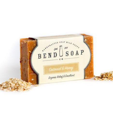 Oatmeal & Honey Goat Milk Soap 4.5oz Bar - Bend Soap Company