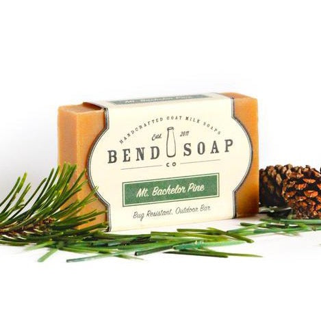 Mount Bachelor Goat Milk Soap 4.5oz Bar - Bend Soap Company