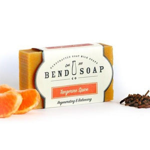 Tangerine Spice Goat Milk Soap 4.5oz Bar - Bend Soap Company