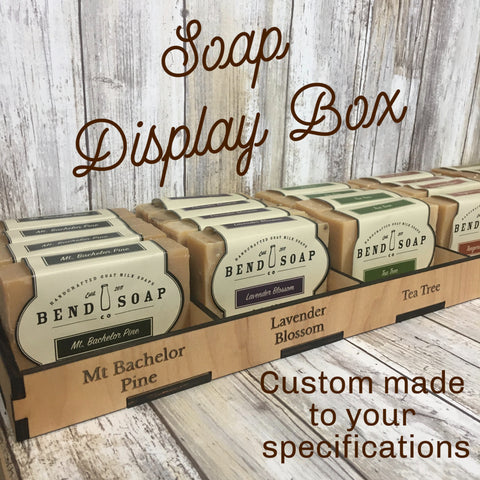 Custom Handcrafted Soap Display Box - Cut to your specifications - Birch Plywood