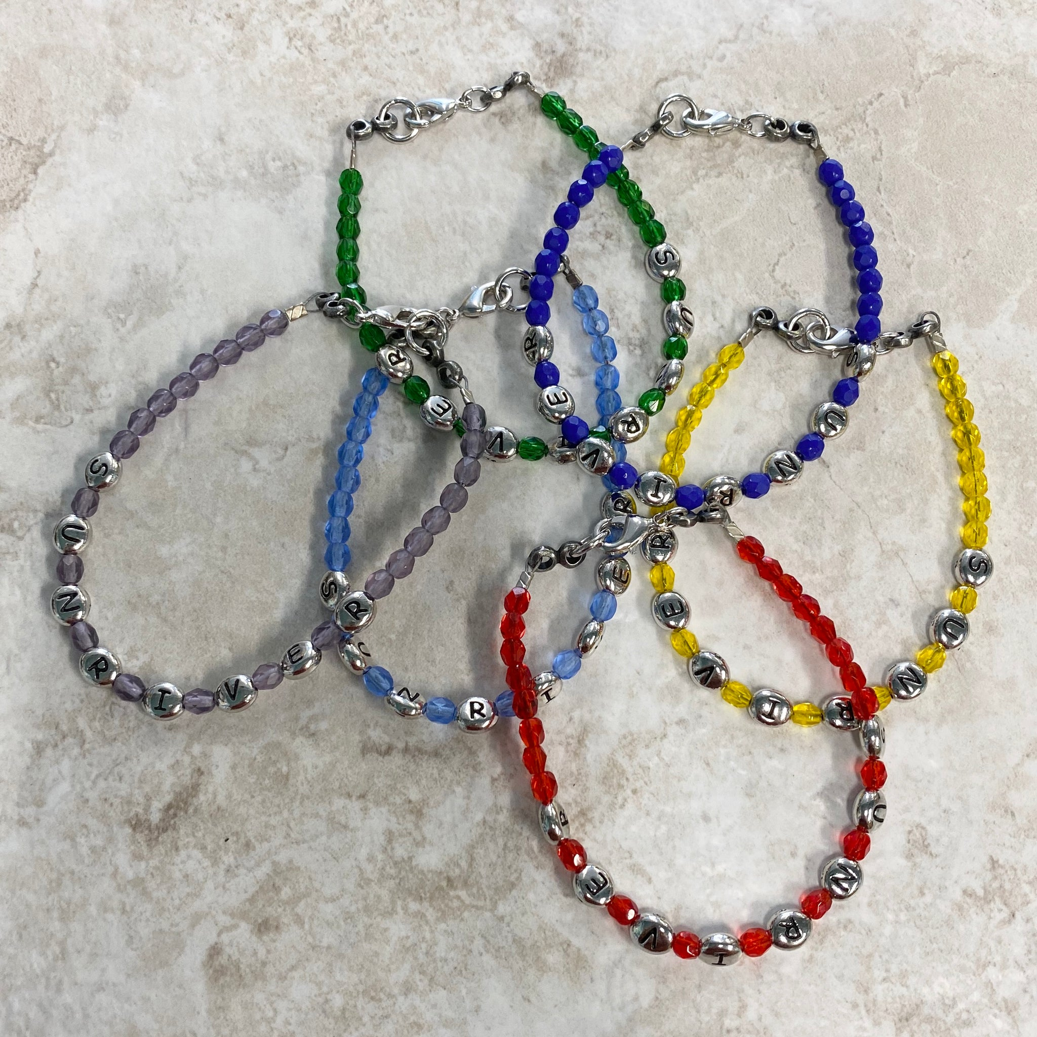 Sunriver Beaded Bracelet for Charms