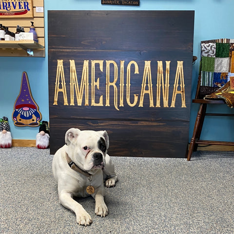 Large Business Logo Signs - Carved & Painted Pine Wood