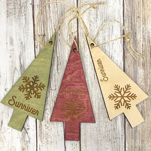 Sunriver Snowflake Tree - Christmas Tree Ornaments