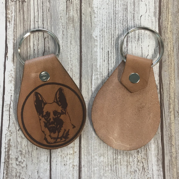Your Choice of Letterkenny Key Chains - Laser Engraved Leather
