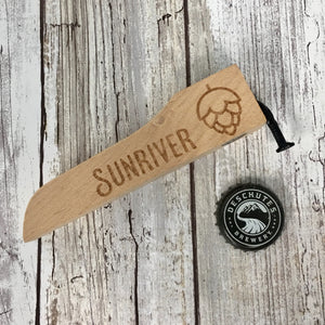 Sunriver Oregon Beer Wood Handle with Nail Bottle Opener - Ale Trail