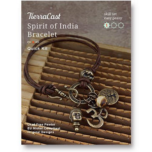 Spirit of India Bracelet Kit - Qty 1 Kit - TierraCast