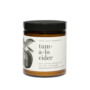 Tumalo Cider Soy Candle - Large 9oz - Broken Top Candle Company