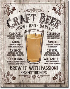 Craft Beer - Beer Sign - Made in the USA