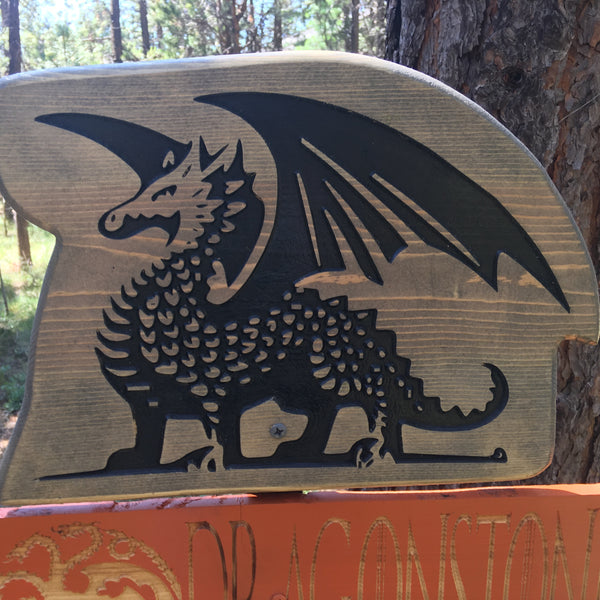 Game of Thrones Directional Signs - Carved Cedar Wood Signs