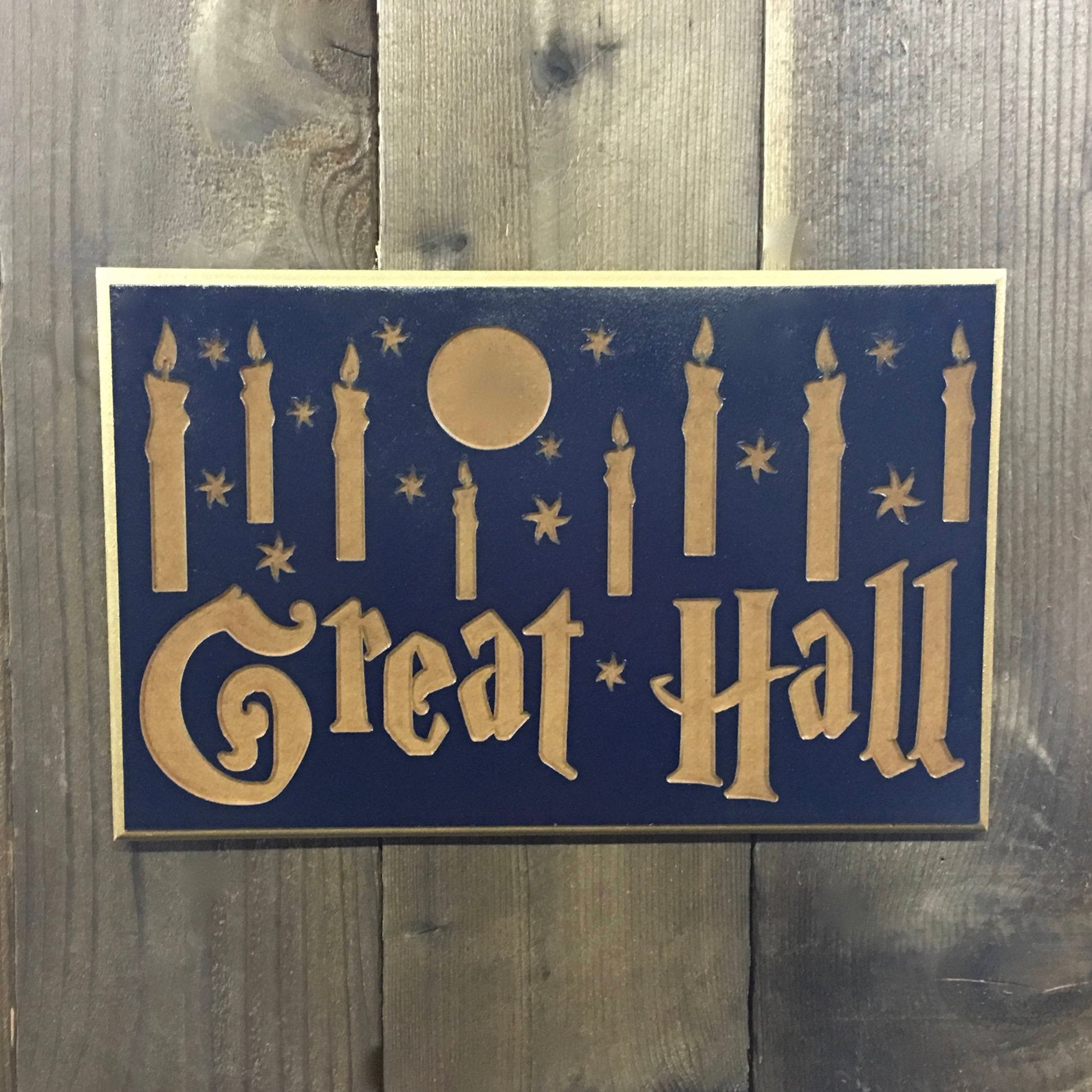 Great hall Sign - MDF Carved Wood