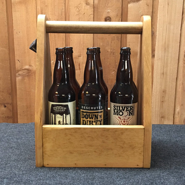 Bend Oregon Grateful Dead Beer Carrier - As Shown Holds Six 32oz Bomber Bottles - Other Sizes Available