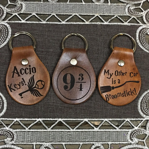 Your Choice of Leather Key Chain