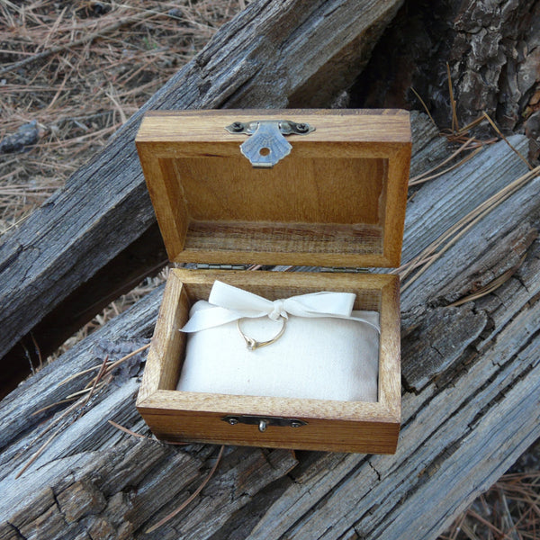 Will You Marry Me? Engagement Ring Promise Box