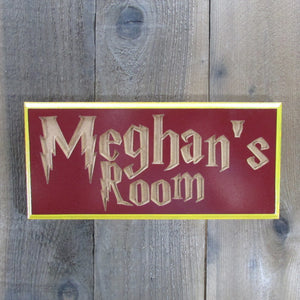 Personalized Name Room Bedroom Sign