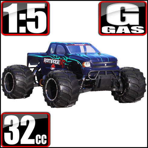 Rampage MT V3 Truck 1/5 Scale Gas