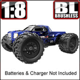 Landslide XTe Truck 1/8 Scale Brushless Electric (Batteries & Charger NOT Included)