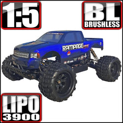Rampage XT-E Monster Truck 1/5 Scale Electric