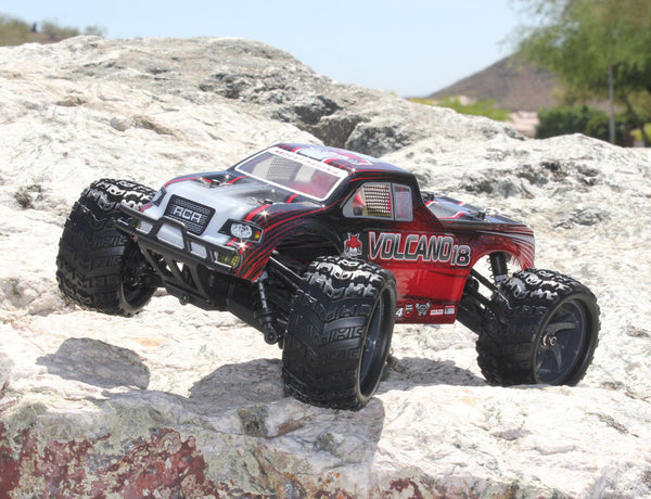 Bundle Deal - (2) Volcano-18 V2 1/18 Scale Electric Truck