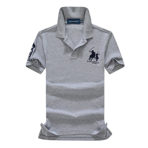 Polo Brand Clothing Male Fashion Business Casual Men Polo Shirts Solid Polo Tee Shirt Tops High Quality Slim Fit Shirt Men 908
