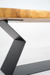 TABLE BASE | Matte Black Geo