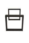 TABLE BASE | Matte Black Square
