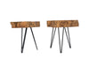 Grus Live Edge Side Table
