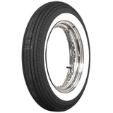"500-16 Motorcycle Dbl 2"" Whitewall Tire 130/90&140/90-16 Eqiv. Coker 63375"