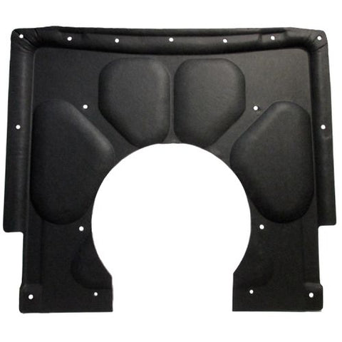 Hood Insulation Pad Molded Fiberglass 1pc For 1967-69 Chevrolet Camaro w Clips