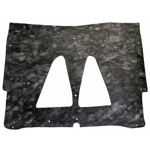 Hood Insulation Pad Flat Fiberglass 1pc For 1973-73 Pontiac GTO LeMans w/Clips
