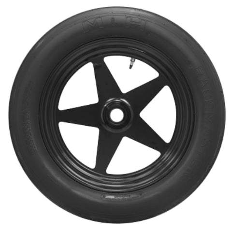 3.6/24-15 (P165/70-15) M&H MSS022 Bias Blackwall Drag Race Front Runner Tire