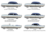 Trunk Boards For 1955-56 Buick Special 2 Dr Hardtop w/Multiple Colors Available