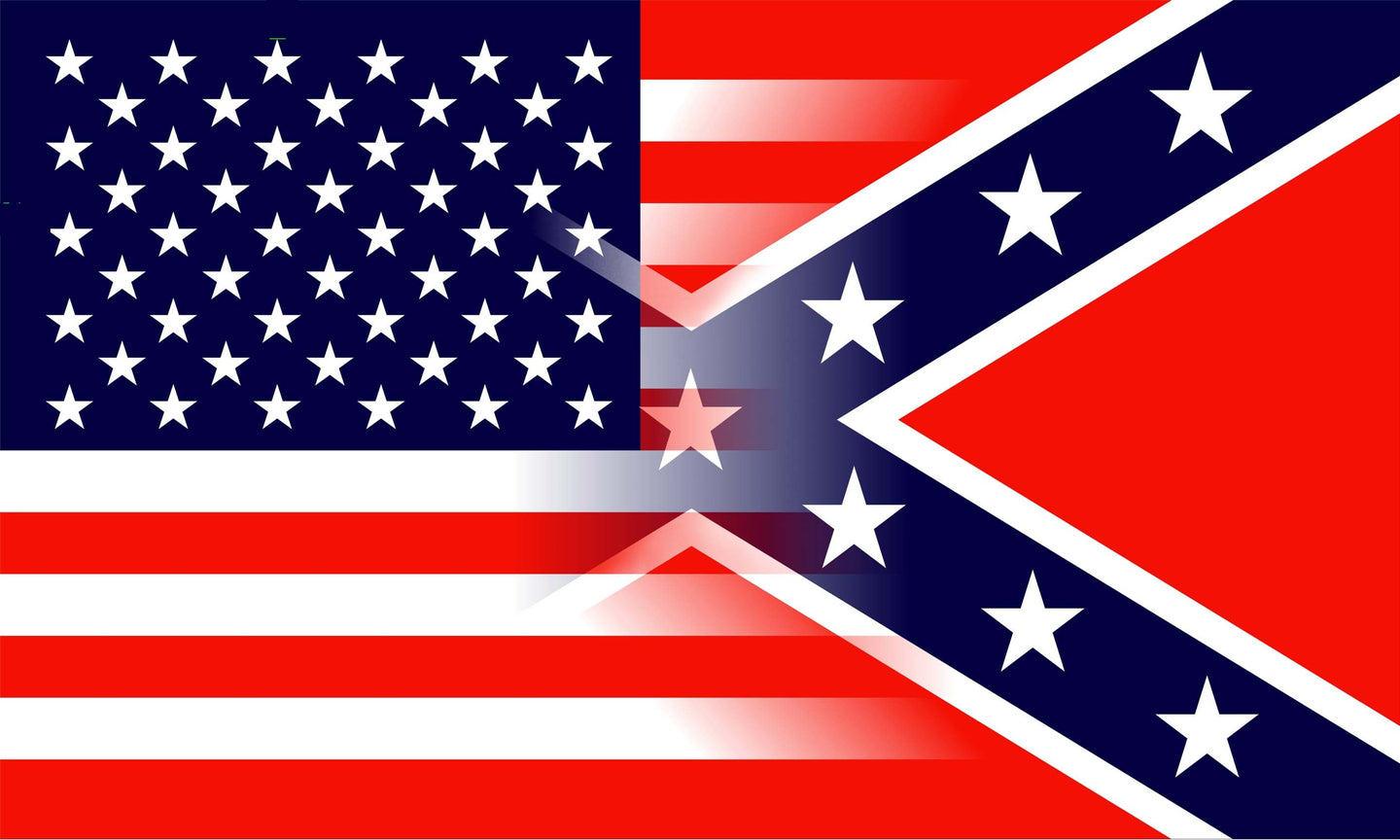 USA/Confederate Flag