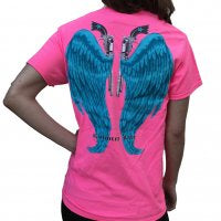 Guns & Blue wings pink