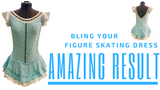 Bling your Figure Skating Dress Amazing Result - Rhinestones - Crystals