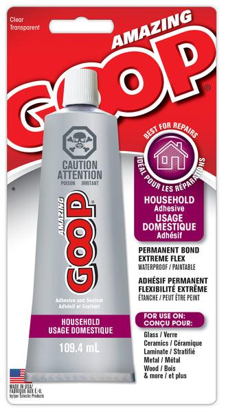 AMAZING GOOP HOUSEHOLD Adhesive Clear 109.4 ml