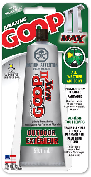 AMAZING GOOP II MAX Adhesive Clear 59.1 ml