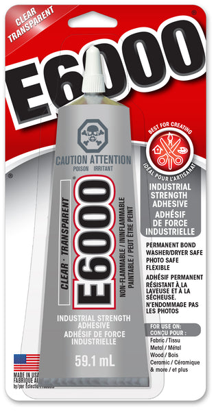E6000® Craft Adhesive Clear 59.1 ml