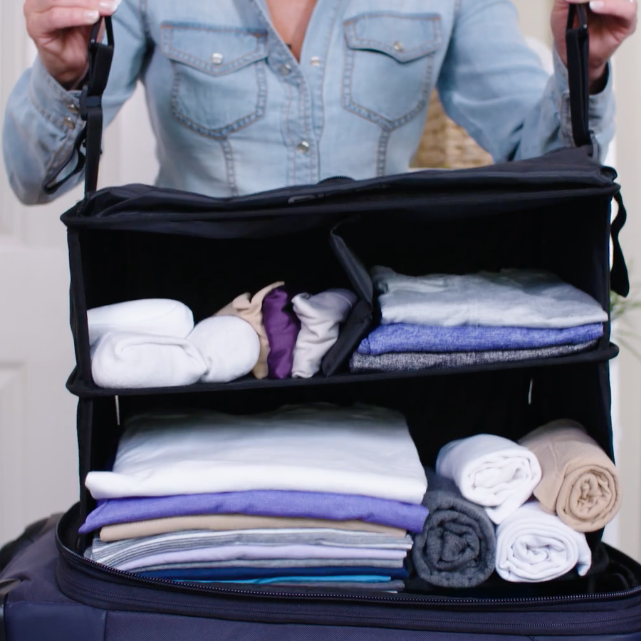 PACK & UNPACK IN 10 SECONDS FLAT