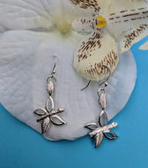 Sterling Silver Grace Butterfly Earrings