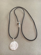Large or Small Sterling STRENGTH Pendant w/ bale and chain