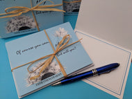 """Of Course you can!"" Note Cards"