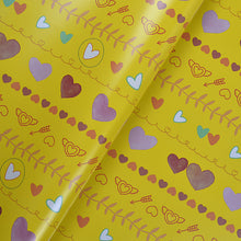 Hand Painted Flat Wrapping Paper
