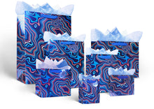 Water Wave Paper Bag