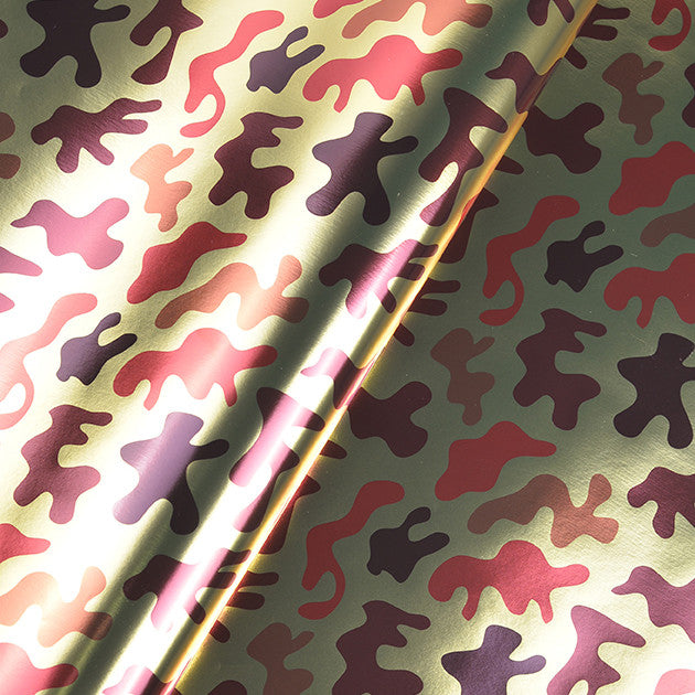Digital Camouflage Flat Wrapping Paper