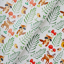 Racoons Flat Wrapping Paper
