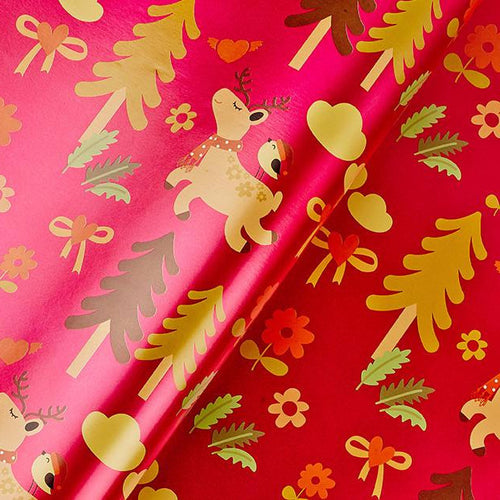 Fatty Deer Flat Wrapping Paper