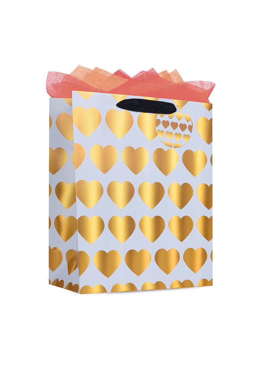 Heart Stamp Paper Bag