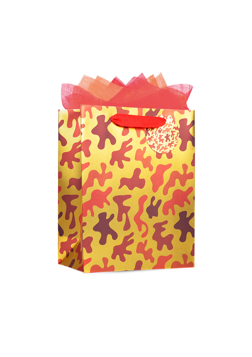 Digital Camouflage Paper Bag